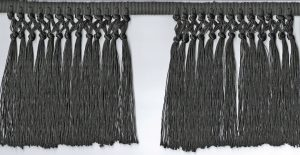 Cincture Fringe Black